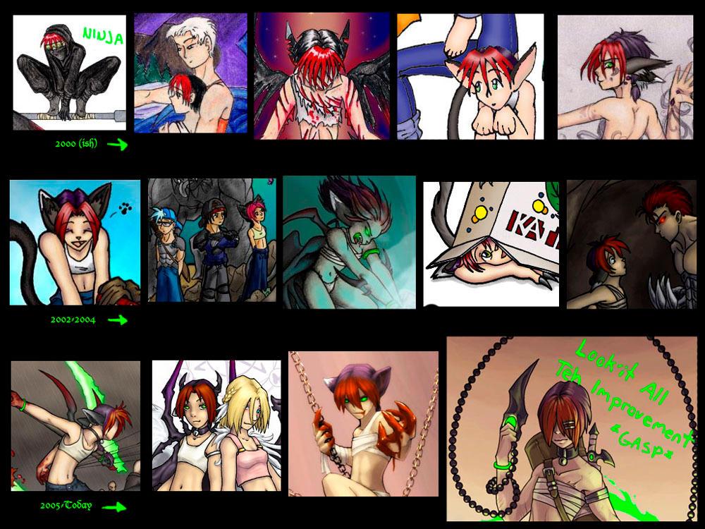My progress page... by kilara