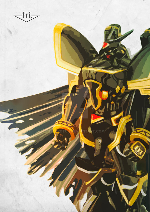 Alphamon - Tri by MauroTch on DeviantArt
