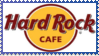 Hard Rock Cafe Stamp by Over-My-Head41