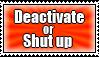 Deactivation Stamp by SandyFlygon