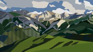 Alpine hills