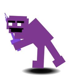 how to get purple guy in fnaf world update 2