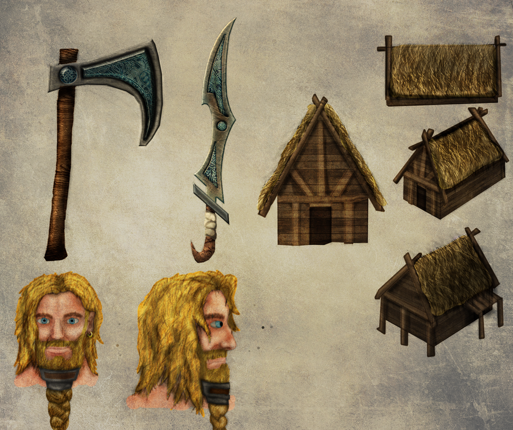 viking stuff clearer version by spartan wolves on deviantart