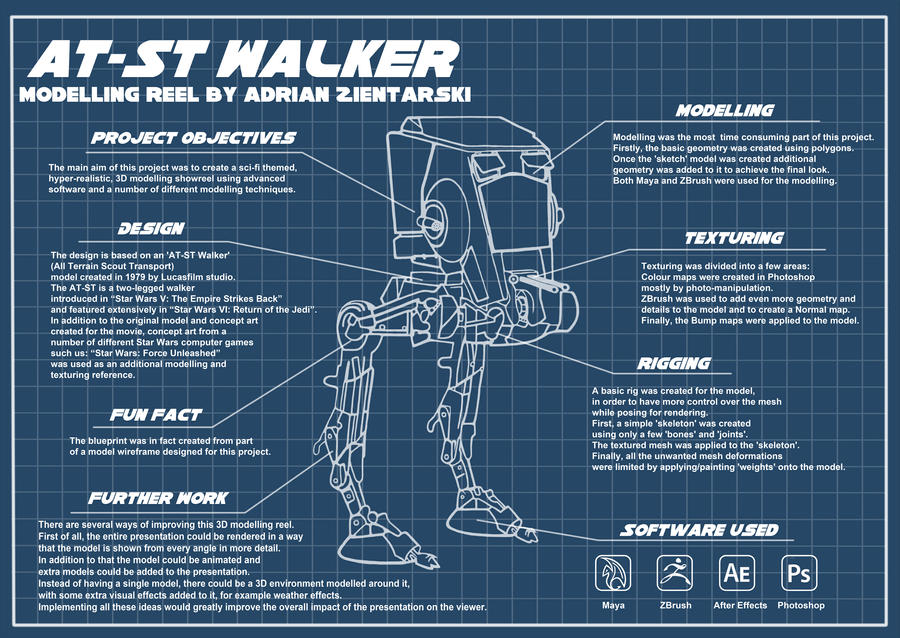 At St Walker Blueprint By Aker89 On Deviantart