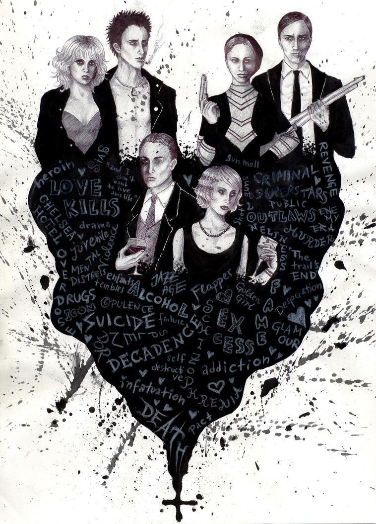 Love Kills by LaChauveSourisDoree