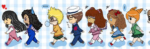 R:Marching Chibis