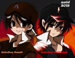 Boboiboy 2012 Editing By ME XD by zaidkira