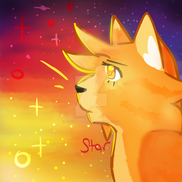 Profile pic DA by StarGazingHipster
