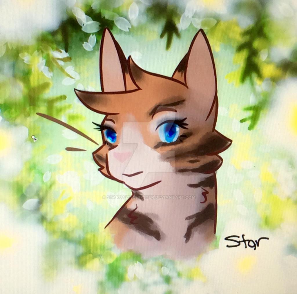 Sweet Honeyfern Redraw by StarGazingHipster