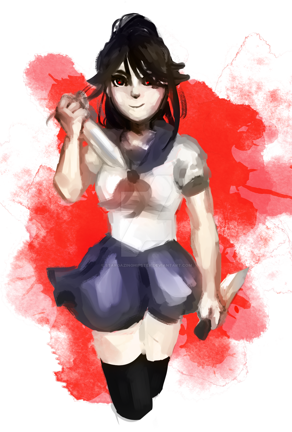 Don't Mess With A Yandere by StarGazingHipster