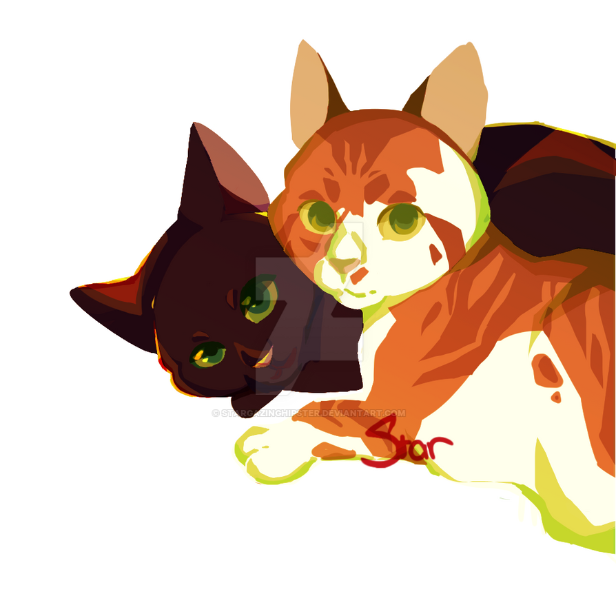 Holly and Fallen by StarGazingHipster