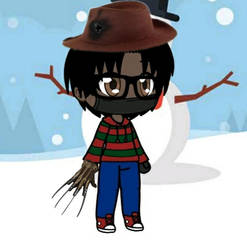 Christmas Outfit (Freddy Krueger Version)