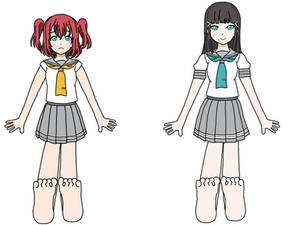 Ruby and Dia's Feet