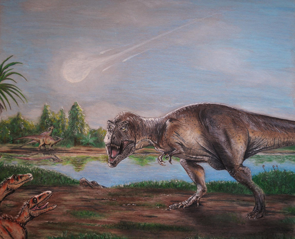 dinosaur extinction 'dinosaur graveyard' may date back to the time of the mass extinction: fossil bed behind a new jersey mall suggests large numbers of creatures were killed as a result.