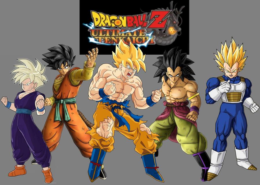 DBZ Ultimate Tenkaichi by DBAFcreator