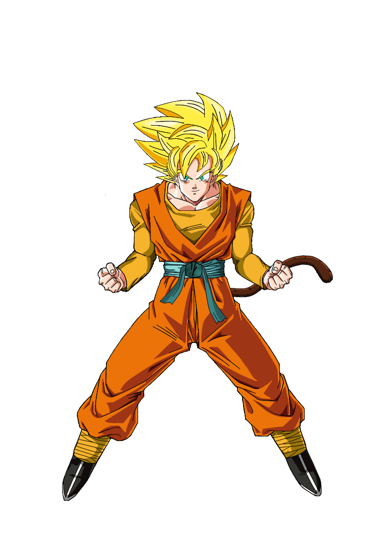 Hero Super Saiyan by DBAFcreator