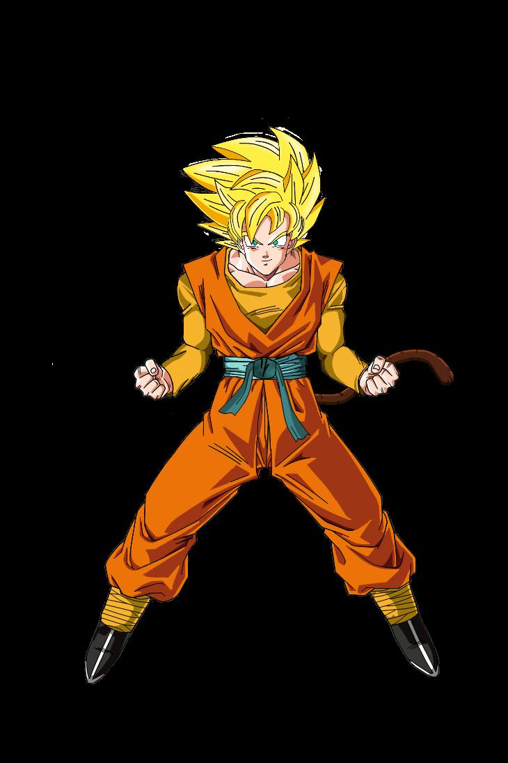 Hero Super Saiyan by DBAFcreator