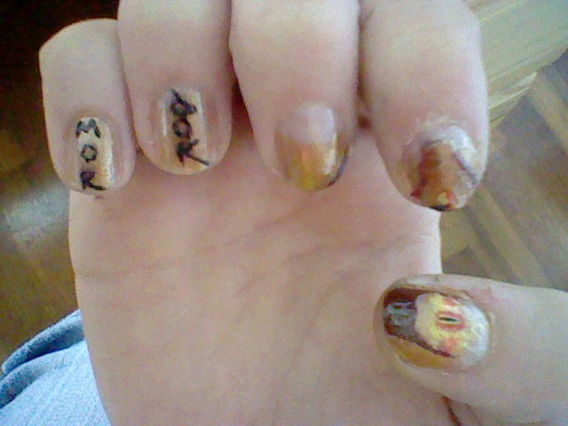Lotr nail art mordor by ironmandy on deviantart lotr nail art mordor by ironmandy prinsesfo Images