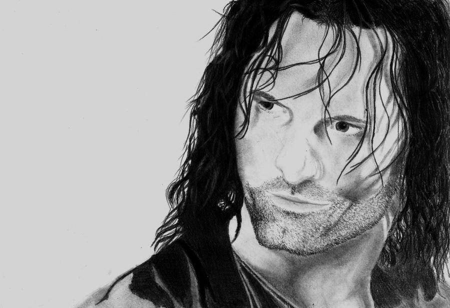 Aragorn by IronMandy