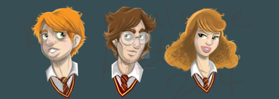 HP Trio by keelhaulkate