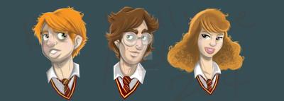 HP Trio by keelhaulkate