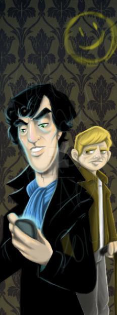 Sherlock by keelhaulkate
