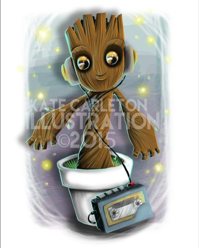 Baby Groot by keelhaulkate