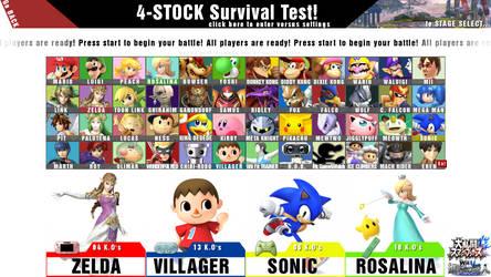 Smash 4 full roster wii u