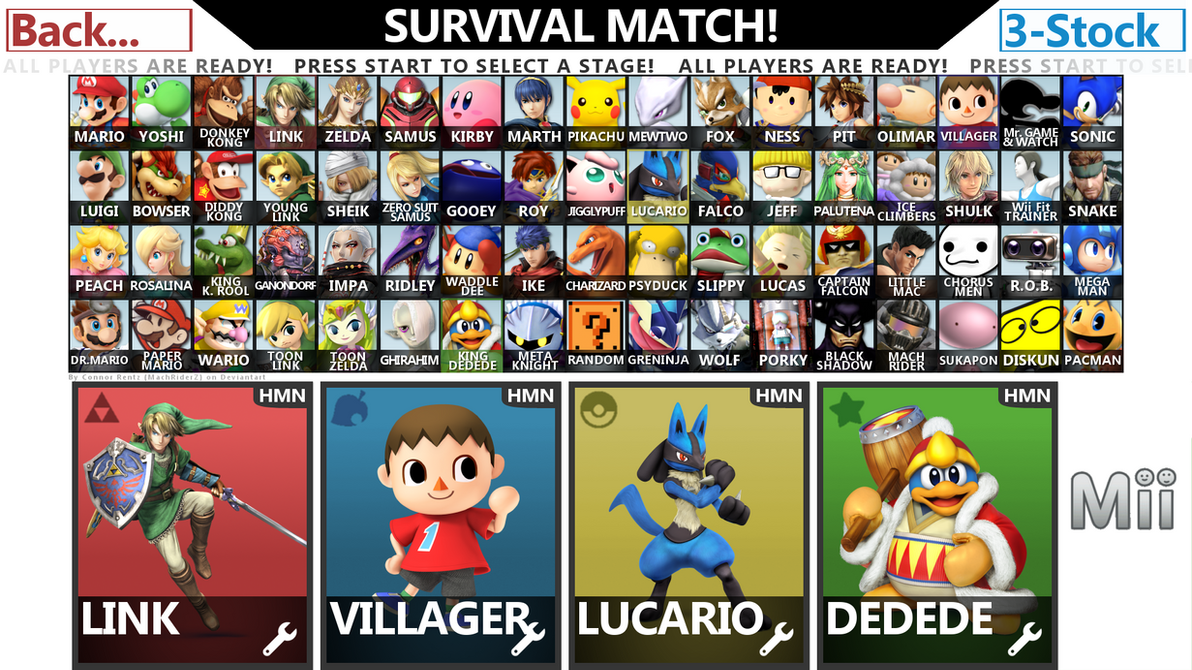 Super Smash Bros Wii U  NO LIMITS  Style 3 by ConnorRentz on