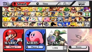 Super Smash Bros. Wii U ALL CHARACTERS - Style 1