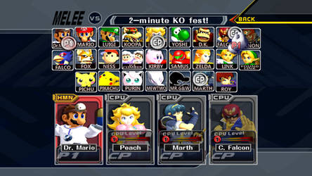 Super Smash Bros. Melee HD Update (DOWNLOAD)