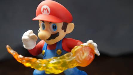Mario Amiibo Wallpaper 3