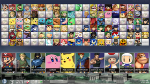 SUPER SMASH BROS. FOR PC - Hidden Fighters 1 by ConnorRentz