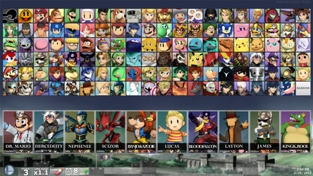 SUPER SMASH BROS. FOR PC - All Characters By Debut