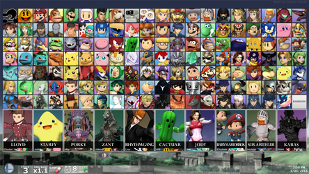 SUPER SMASH BROS. FOR PC - DLC Fighters (By Debut)