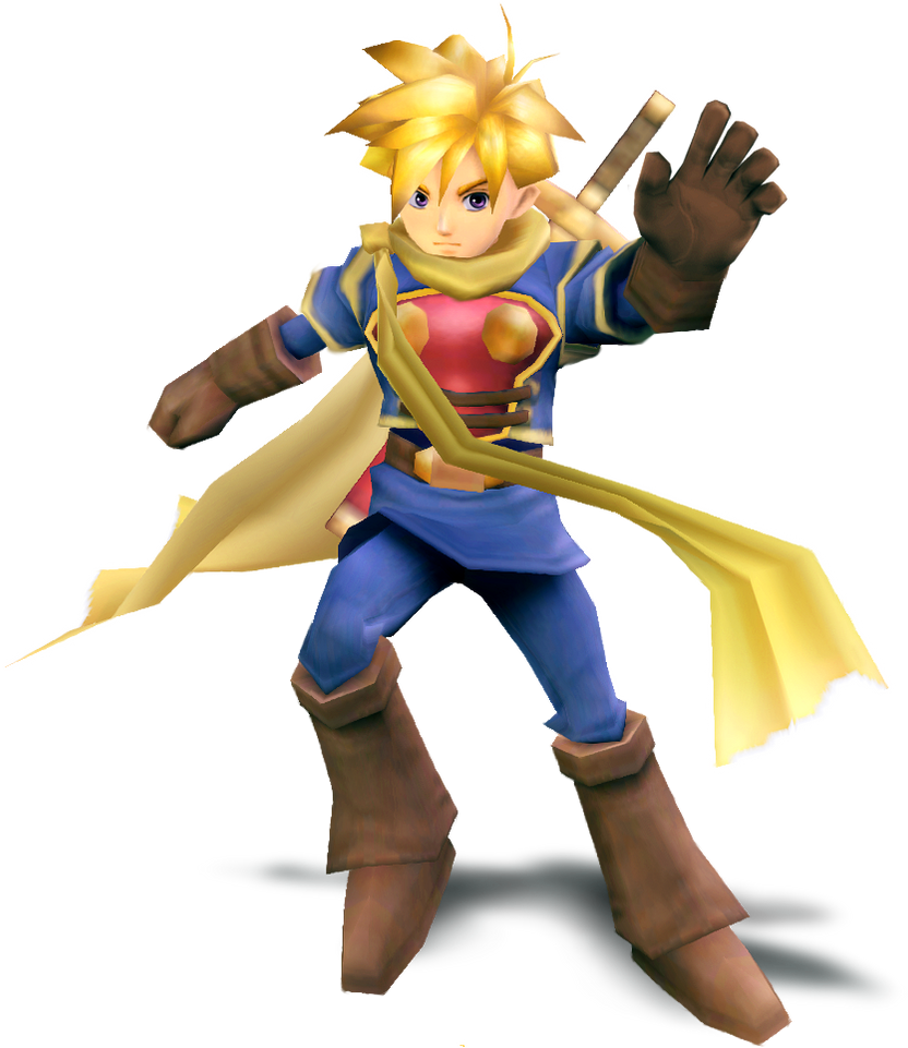 Isaac - Smash Wii U/3DS Style Render by MachRiderZ