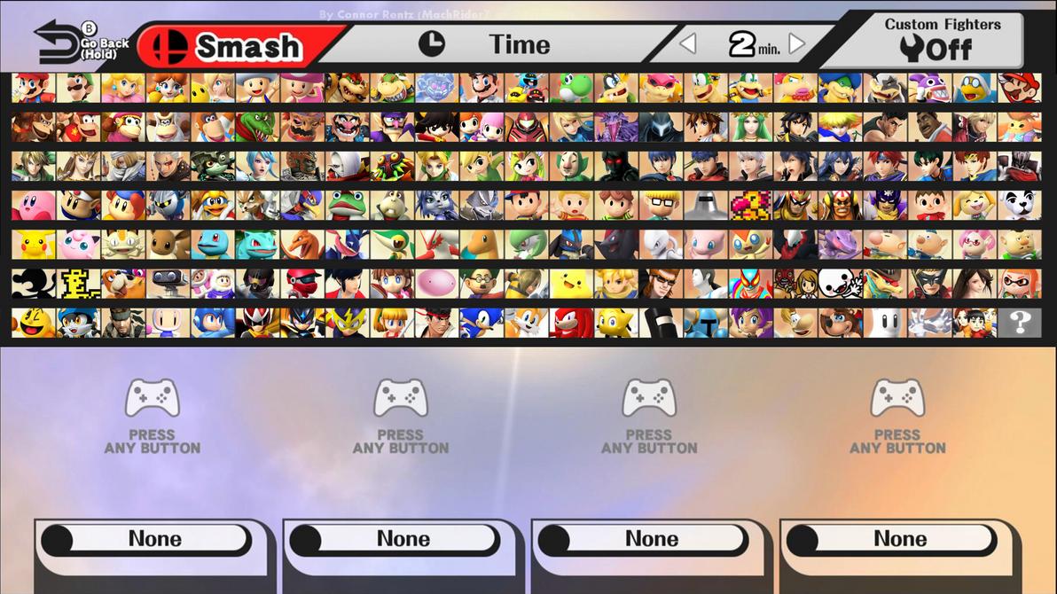 Smash Wii U Expansion (Second Edition) by MachRiderZ