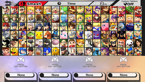 Ultimate Smash Bros. for Wii U COMPLETE 7/7 by ConnorRentz