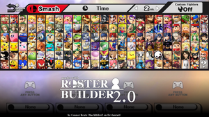Roster Builder 2.0 Example by ConnorRentz