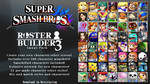 Super Smash Bros. ROSTER BUILDER 3 IMAGE PACK