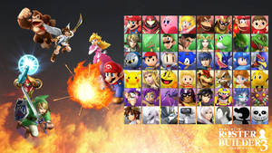 Roster Builder 3 Sample - Arcade Style by ConnorRentz