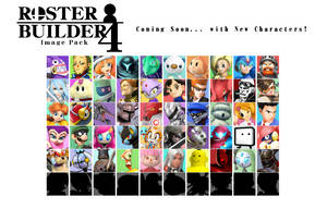 Roster Builder 4 Preview - Wave 5 by ConnorRentz