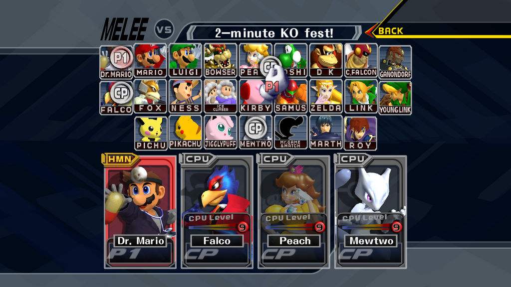 super smash bros melee rom for dolphin android
