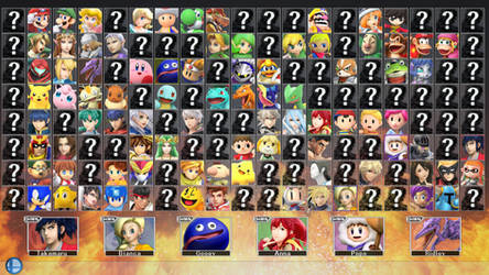 Super Smash Bros. for PC 2 - ROSTER PART 1 by ConnorRentz
