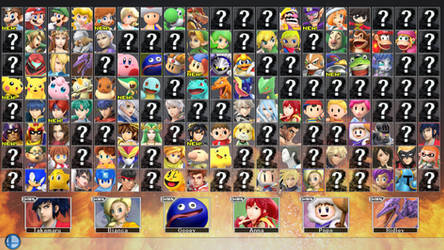 Super Smash Bros. for PC 2 - ROSTER PART 2 by ConnorRentz