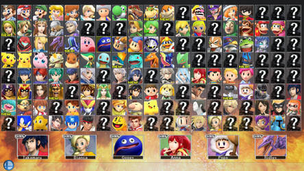 Super Smash Bros. for PC 2 - ROSTER PART 3 by ConnorRentz