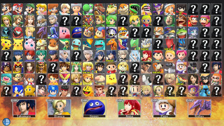 Super Smash Bros. for PC 2 - ROSTER PART 4 by ConnorRentz