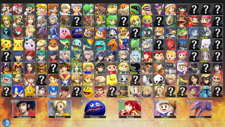 Super Smash Bros. for PC 2 - ROSTER PART 5 by ConnorRentz
