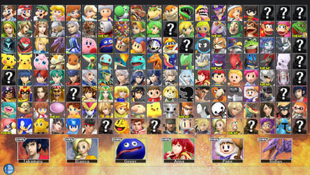 Super Smash Bros. for PC 2 - ROSTER PART 6 by ConnorRentz