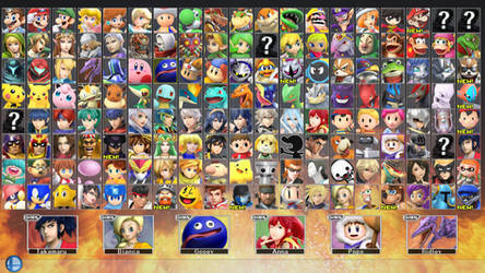 Super Smash Bros. for PC 2 - ROSTER PART 7 by ConnorRentz